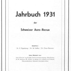 1931 Aero Revue